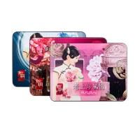 (丽人)如玥老上海风情铁盒护肤礼盒组姹紫嫣红