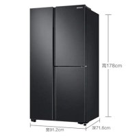 三星冰箱RS63R5597B4