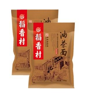 稻香村油茶面500g*2袋传统茶点老口味